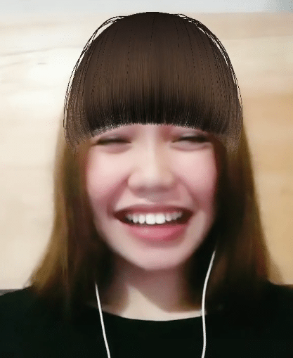 TikTok: How to get the bangs filter – Try not to laugh challenge