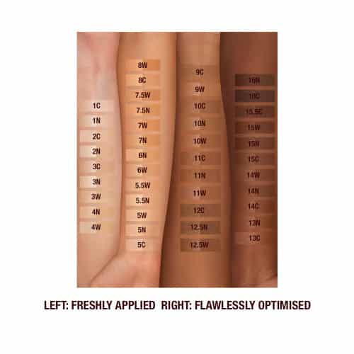 shades of flawless foundation charlotte tilbury