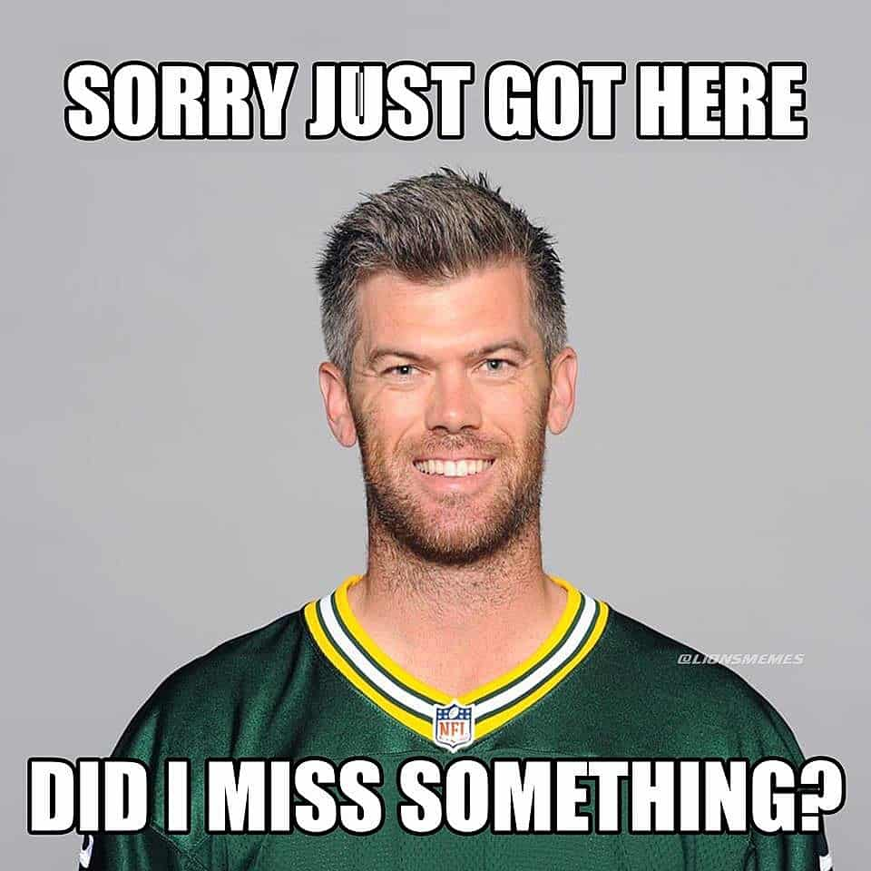 Mason Crosby meme